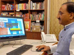 """MHRD e-launches national program """"VidyaDaan 2.0""""_50.1"""