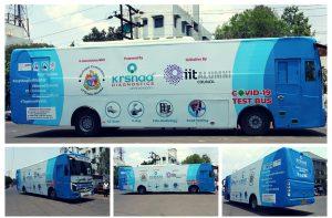 "IIT Alumni council launches ""COVID-19 test bus""_50.1"