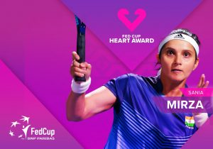 Sania Mirza becomes 1st Indian to win Fed Cup Heart Award_50.1