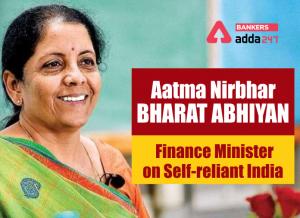 "Economic Relief Package announced for ""Aatmanirbhar Bharat Abhiyan""_50.1"