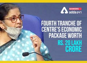 "FM announces 4th tranche of measures for ""Aatmanirbhar Bharat Abhiyan""_50.1"