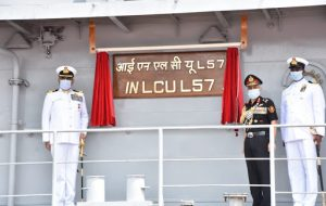 7th LCU Ship 'INLCU L57' commissioned into Indian Navy_50.1