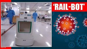 SCR develops 'Rail-Bot' to provide better health care to COVID patients_50.1
