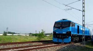 Indian Railways operationalised its 1st 12,000 hp electric Locomotive- WAG12_50.1