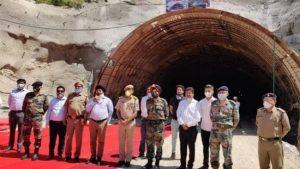 Nitin Gadkari inaugurates tunnel under Chardham Pariyojana in Chamba_50.1
