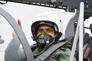 """IAF inducts Tejas Mk-1 FOC aircraft in Squadron """"Flying Bullets""""_50.1"""