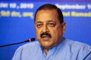 """Union Minister Jitendra Singh launches """"COVID BEEP"""" app for COVID-19_50.1"""