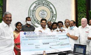 Andhra CM launches 'Jagananna Chedodu' scheme_50.1