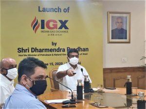 Dharmendra Pradhan launches Indian Gas Exchange_50.1