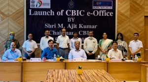 "CBIC Chairman M. Ajit Kumar launches ""e-Office"" application_50.1"