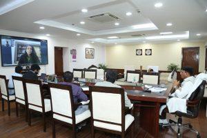 Mansukh Mandaviya introduce India's 1st Virtual Healthcare & Hygiene EXPO 2020_50.1