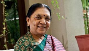 Anandiben Patel given additional charge of Madhya Pradesh