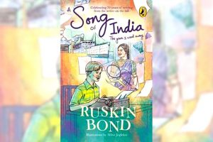 A book titled 'A Song of India' authored by Ruskin Bond to be released_50.1