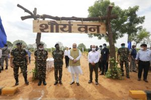 Amit Shah launches CAPF's nationwide tree plantation drive_50.1