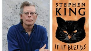 """A book titled """"If It Bleeds"""" authored by Stephen King released_50.1"""