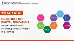 HRD Minister releases 'Pragyata' guidelines for online education_50.1