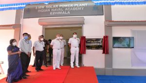 Largest Solar Power Plant of Indian Navy Commissioned in Ezhimala_50.1