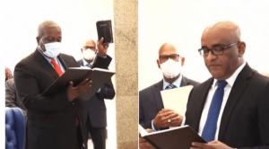 Mark Phillips sworn in as Prime Minister of Guyana_50.1