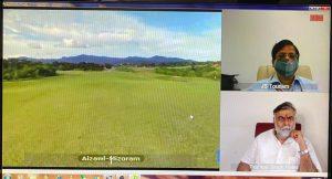 """Thenzawl Golf Resort"" virtually inaugurated in Mizoram_50.1"