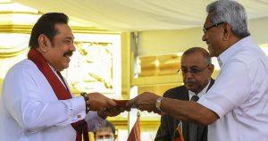 Mahinda Rajapaksa takes oath as Sri Lankan PM for 4th time_50.1