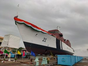 ICG's fourth Offshore Patrol Vessel 'Sarthak' launched_50.1