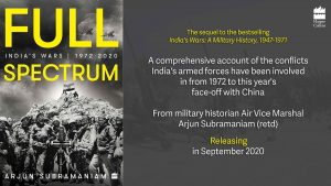 """A book titled """"Full Spectrum: India's Wars, 1972-2020″ by Arjun Subramaniam_50.1"""