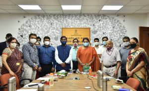"""Ministry of Tribal Affairs launches """"Swasthya"""" & """"ALEKH""""_50.1"""