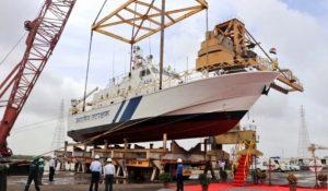Indian Coast Guard launches Interceptor Boat 'ICGS C-454'_50.1