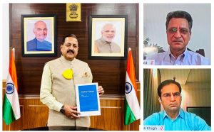 """A book titled """"Gastric Cancer"""" released by Jitendra Singh_50.1"""