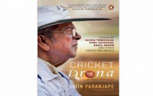 A book title 'Cricket Drona' on renowned coach Vasoo Paranjape_50.1