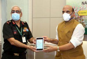 "Raksha Mantri launches ""DGNCC Training"" mobile App_50.1"