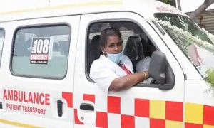 Tamil Nadu appoints India's 1st-ever woman ambulance driver_50.1