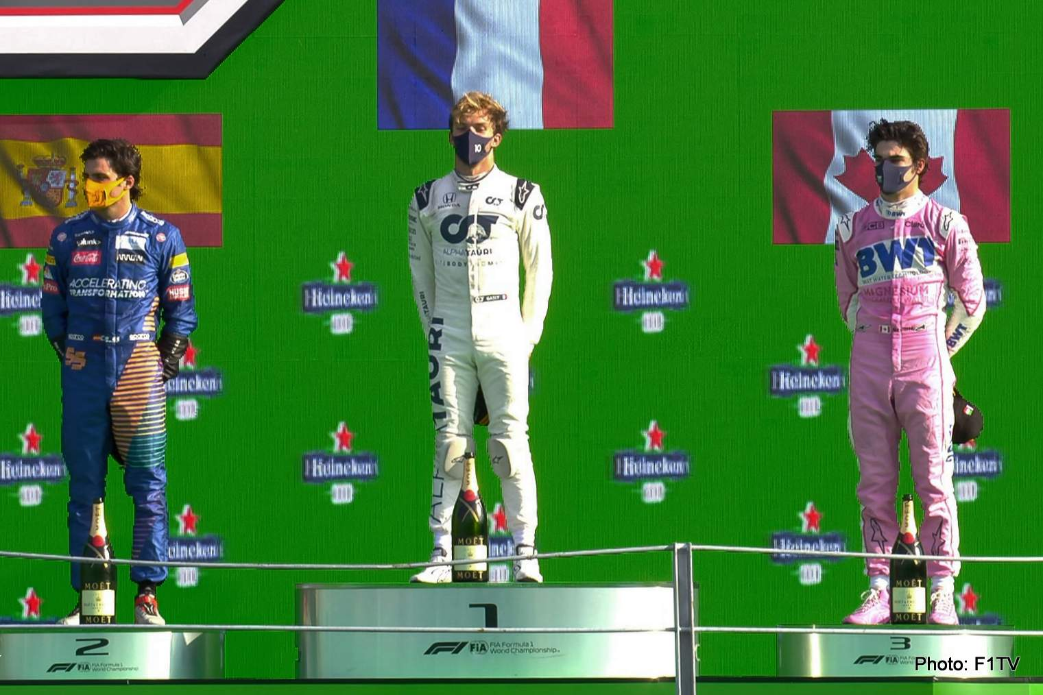 Pierre Gasly Wins F1 Italian Grand Prix 2020
