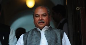 Narendra Singh Tomar takes additional charge of FPI Ministry_50.1