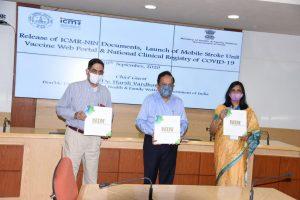 Dr Harsh Vardhan launches ICMR's vaccine web portal_50.1