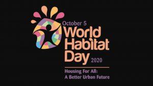 World Habitat Day 2020: 5 October_50.1