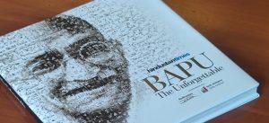 "Delhi's Deputy CM Manish Sisodia launches a book ""Bapu-The unforgettable""_50.1"
