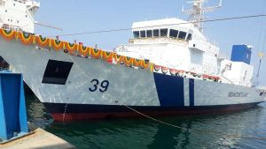 Indian Coast Guard 7th Offshore Patrol Vessel 'Vigraha' launched_50.1