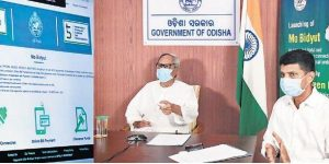 Odisha CM Naveen Patnaik launches 'Mo Bidyut' portal_50.1