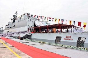 """""""INS Kavaratti"""" commissioned into Indian Navy_50.1"""
