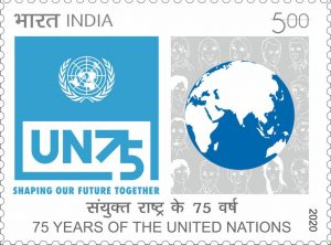 India Posts releases 75th Anniversary of UN Commemorative Stamp_50.1