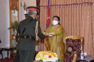 Indian Army chief made honorary General of Nepal Army_50.1