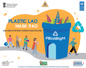 "DMC launched ""Plastic Lao MASK LE JAO"" initiative_50.1"