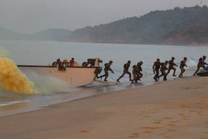 India's special forces conducted 'Bull Strike' triservice exercise_50.1