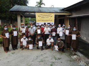 Pakke Tiger Reserve provide Covid-19 Insurance to Green Soldiers_50.1